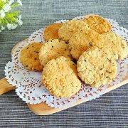 芝麻燕麦饼干的做法