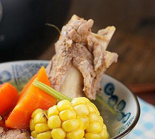 双蔬筒子骨汤的家常做法