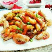 糖醋河虾的做法