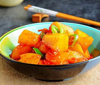 韩式酱土豆的家常做法