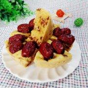 玉米面红枣发糕的做法