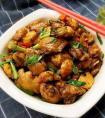 好吃美味的鸡翅杂锅的做法